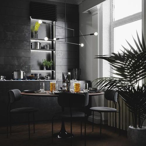 kitchen 3d interior design