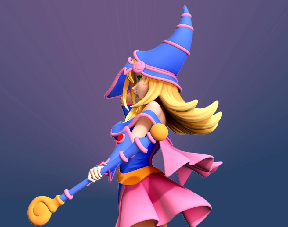 Dark Magician Girlby Menglow