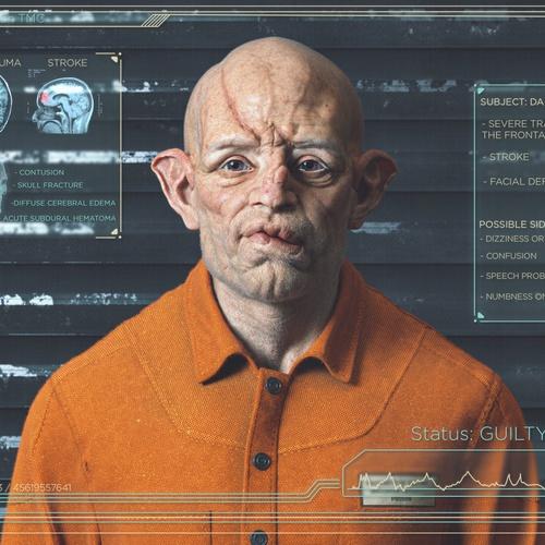 realistic model render character design fantasy futuristic 3d