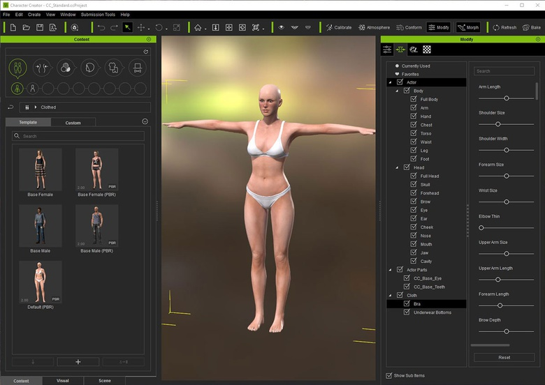 Reallusion Character Creator review · 3dtotal · Learn