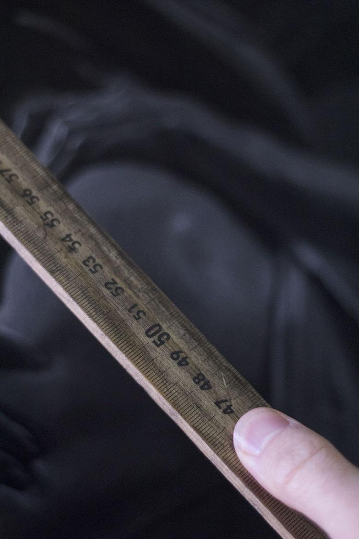 Measure foreshortening