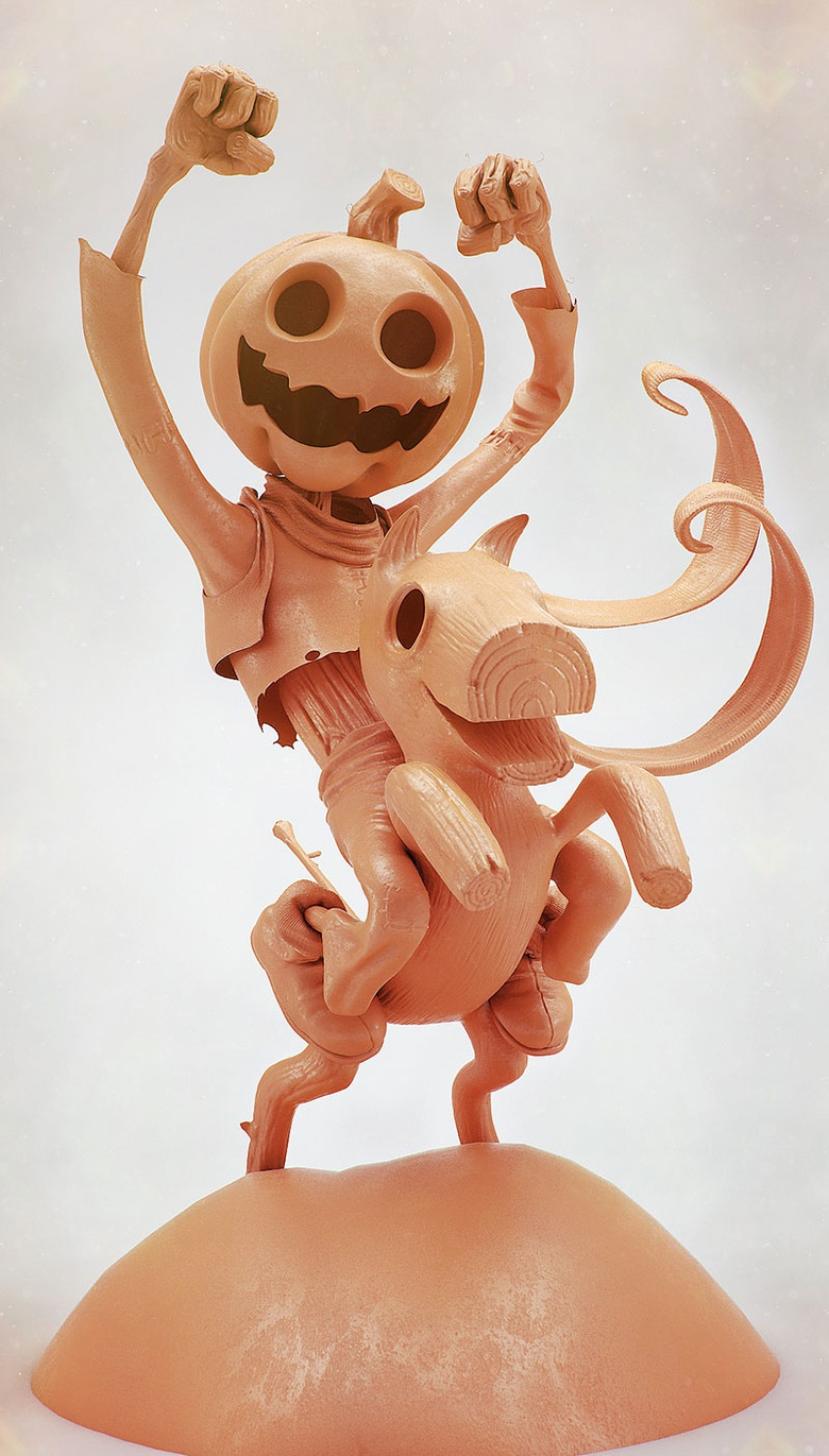 """This is Jack Pumpkinhead from the Marvel comics """"The Wonderful Wizard of Oz."""" Original concept by Ed Mcguinness"""