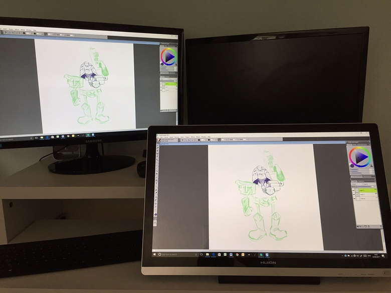 Huion GT-220 V2 Review · 3dtotal · Learn | Create | Share