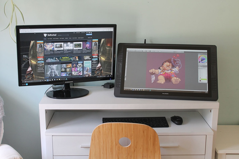 Huion Kamvas GT-221 Pro Review · 3dtotal · Learn | Create