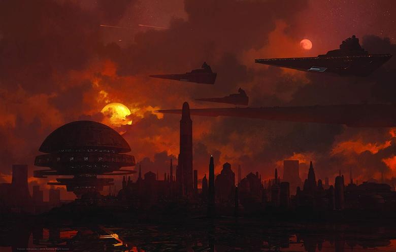 Some recent Star Wars work