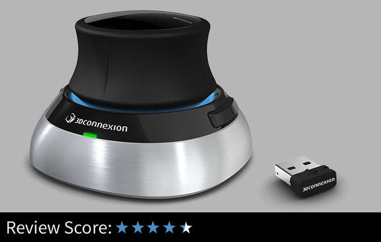SpaceMouse Wireless review - update · 3dtotal · Learn