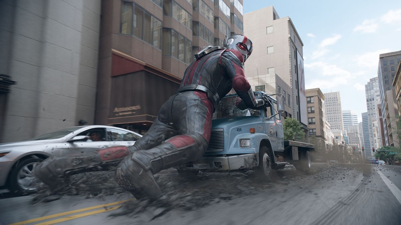 Sizing Up the Situation: DNEG talks about Ant-Man and the