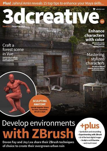 3dcreative magazine: December issue sneak peek! · 3dtotal · Learn
