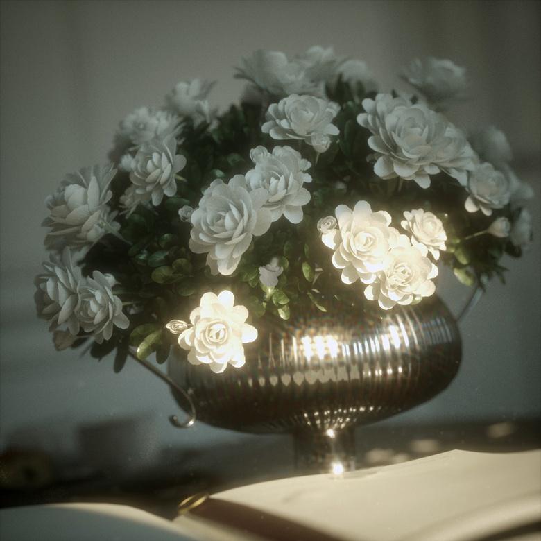 Classic interior flowers