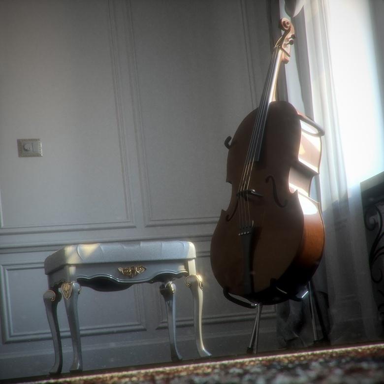 Classic interior cello