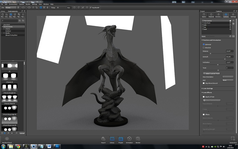 Keyshot 5 1 for ZBrush: Review · 3dtotal · Learn | Create | Share
