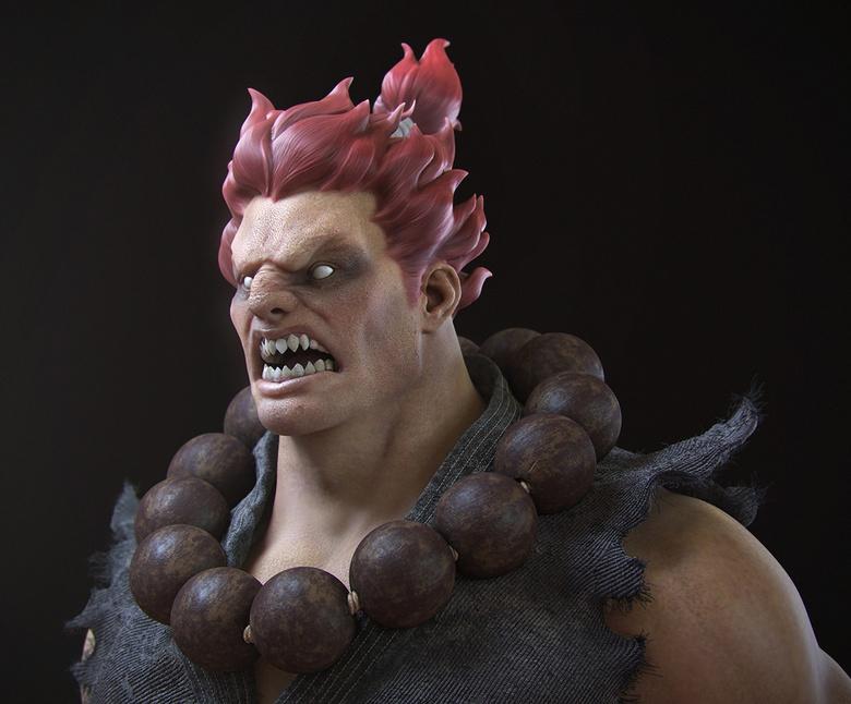 Akuma from the <em>Street Fighter</em> series