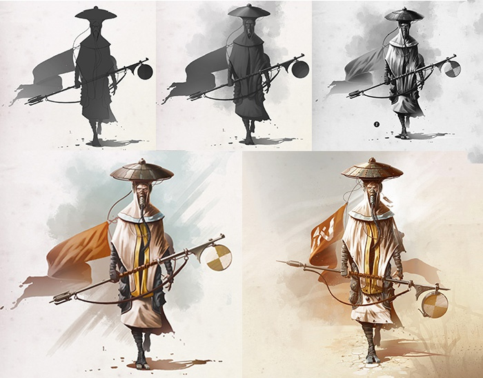 Try Beginners Guide To Digital Painting In Photoshop Characters For