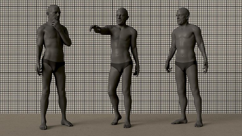 Posing a rig to see if it is fit for purpose for Beginner's Guide to Character Creation in Maya