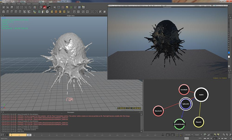 RealFlow 2013 Review · 3dtotal · Learn | Create | Share