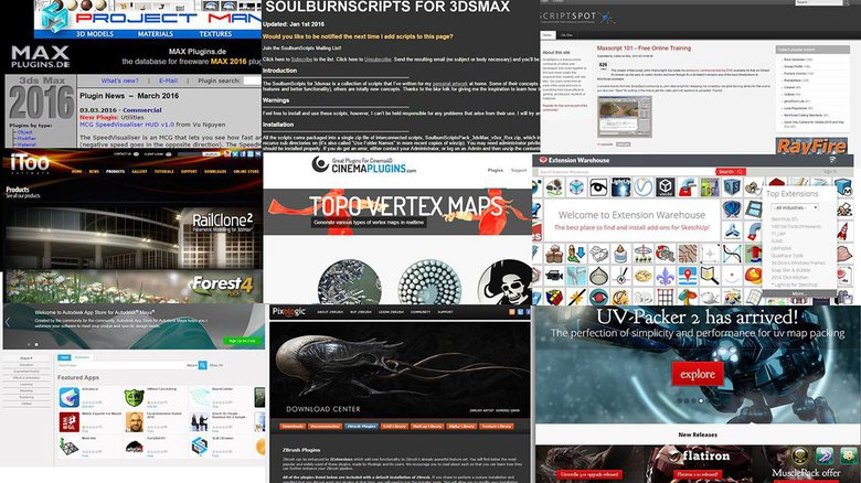 Top 10 places for free 3D scripts, plugins & resources · 3dtotal