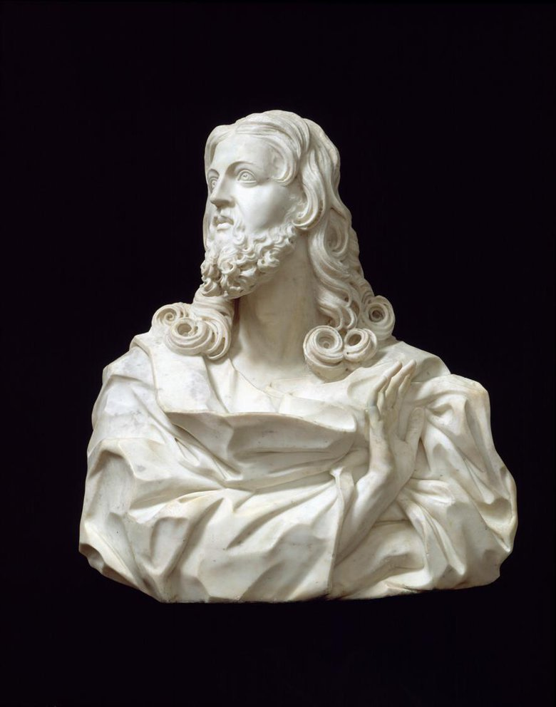 Bust of the Saviour by Gian Lorenzo Bernini