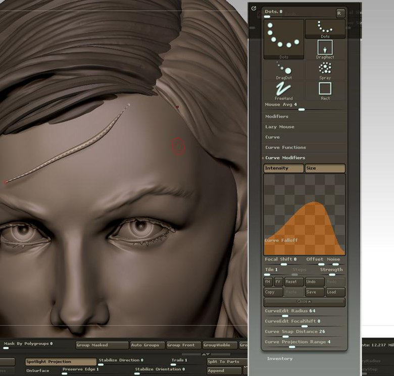 10 top tips for sculpted hair in ZBrush · 3dtotal · Learn | Create