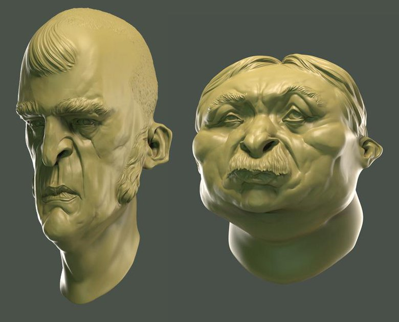 10 tips for Sculpting Interesting heads in ZBrush · 3dtotal