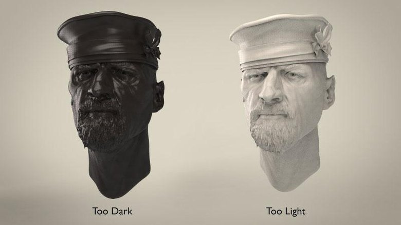 Examples of difficult to render tones