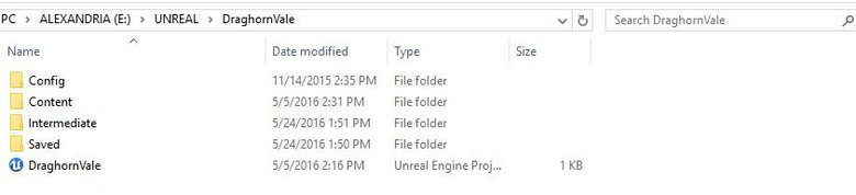 Windows can handle all the movement of complete projects. No exporting or packaging needed.