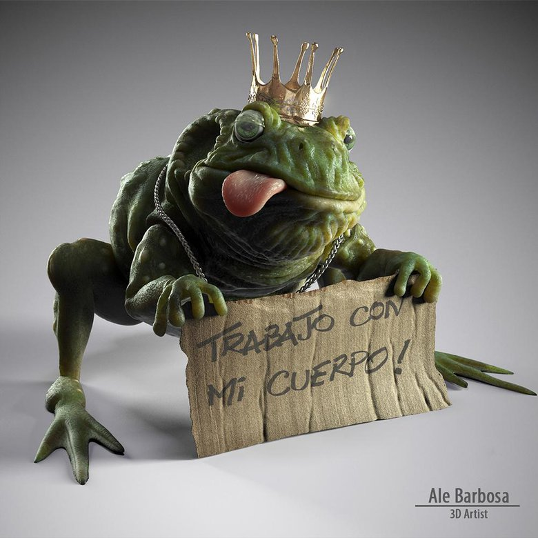 Ale Barbosa: 3D artist interview · 3dtotal · Learn | Create | Share