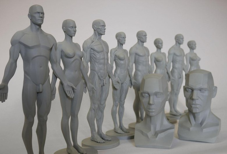3dtotal anatomy figure range: meeting the production team · 3dtotal ...