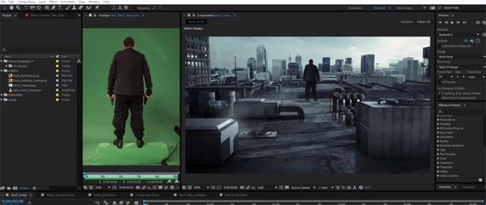 Video Copilot - Design a 3D Set Extension Tutorial · 3dtotal