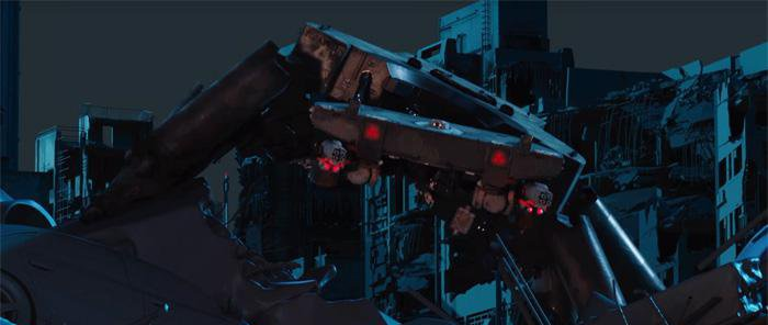 Ghost In The Shell Tank Battle Fight Behind The Scenes 3dtotal Learn Create Share