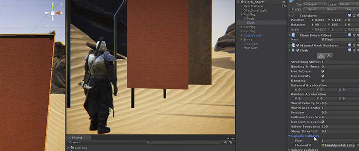 Cloth Physics in Unity 2017 3 · 3dtotal · Learn | Create | Share