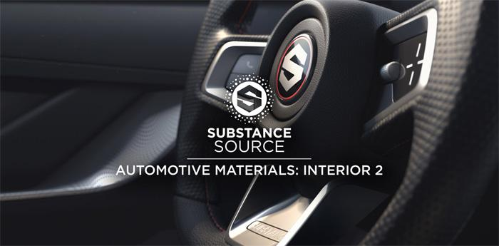 Substance Source Automotive Materials: Interior 2 · 3dtotal · Learn