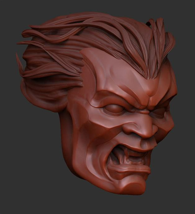 How to sculpt hair in zbrush tutorial hd youtube.