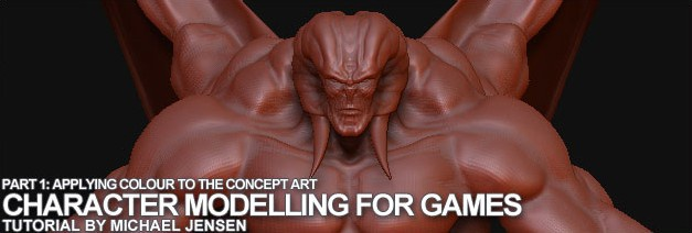 Character Modelling for games in Mudbox · 3dtotal · Learn