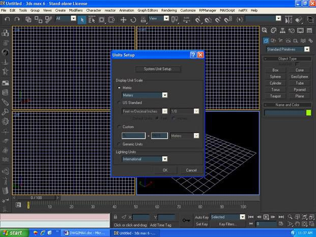 Importing DWGs to 3DSMax for Architectural Visualization