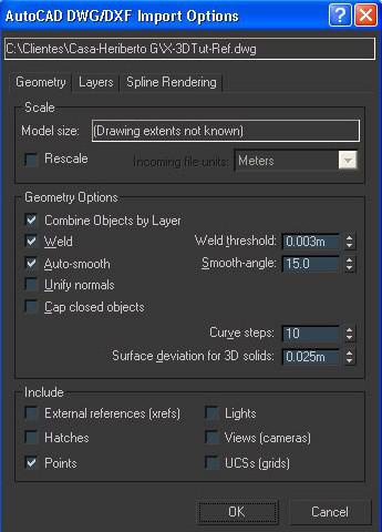 Importing DWGs to 3DSMax for Architectural Visualization · 3dtotal