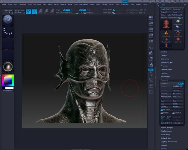 ZBrush Specular Map Painting Tutorial · 3dtotal · Learn | Create | Share
