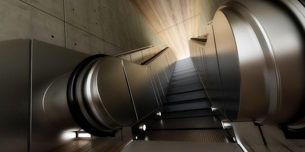 Fig. underground-escalator-blur
