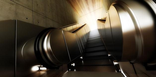 Fig. underground-escalator-colour balance