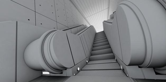 Fig. Underground-escalator-dirt