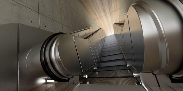 Fig. underground-escalator-levels