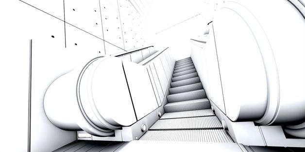 Fig. underground-escalator-occlusion pass