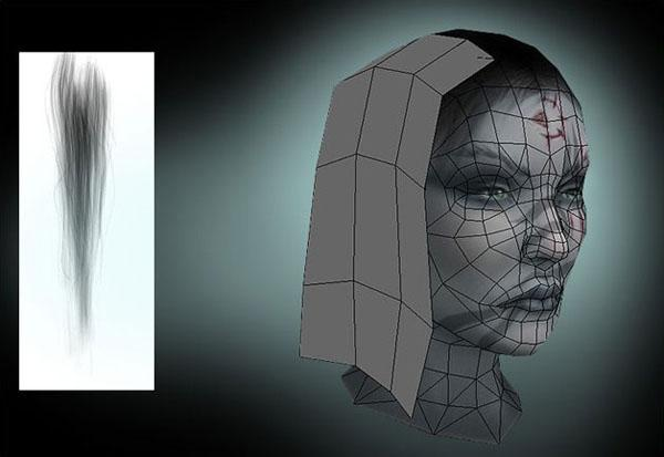 Low Poly Game Character Hair 3dtotal Learn Create Share