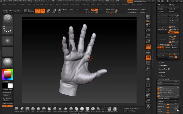 Hand Sculpting in ZBrush · 3dtotal · Learn | Create | Share