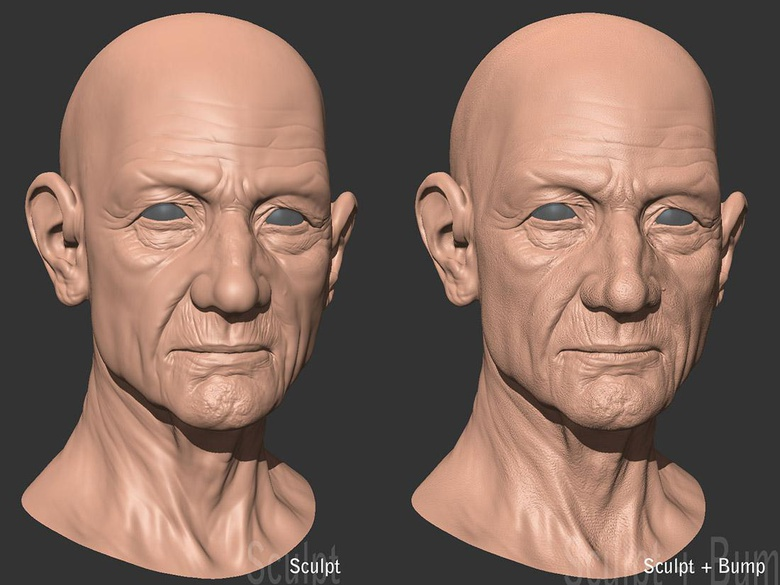 Making Of 'Old Man' by Frederic Scarramazza · 3dtotal · Learn