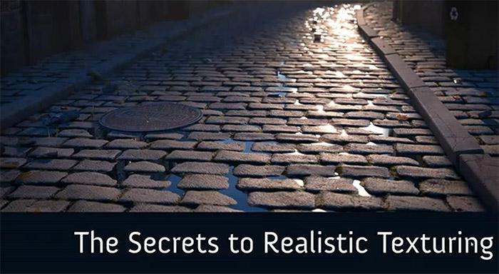 The Secrets of Realistic Texturing · 3dtotal · Learn