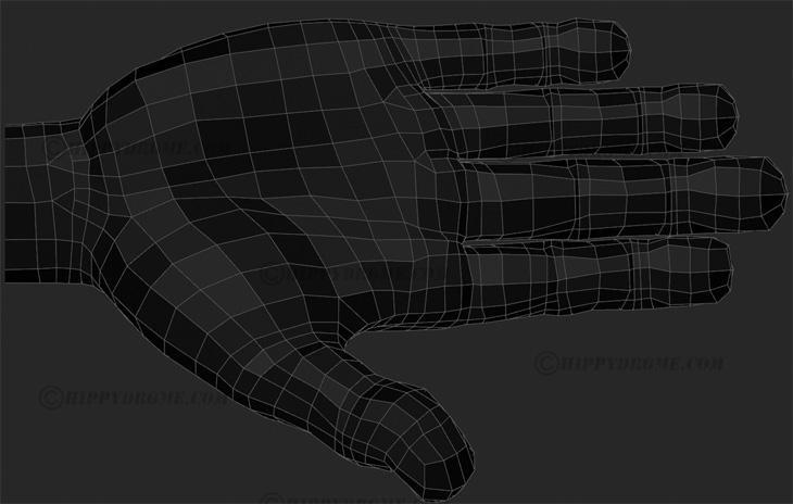 Fig. 06 - Stylized/cartoony edge flow: <a href=