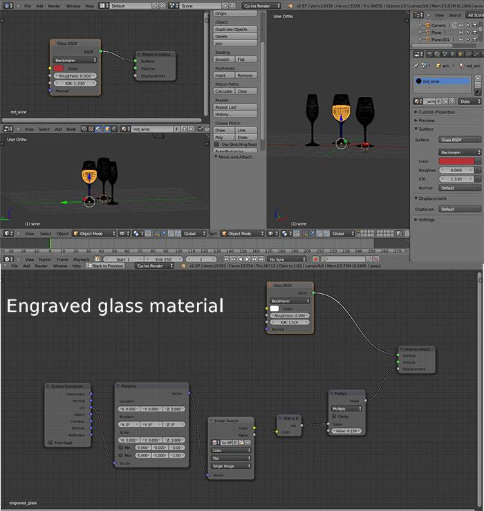 How to Engrave Glass in Blender: Part 2 · 3dtotal · Learn