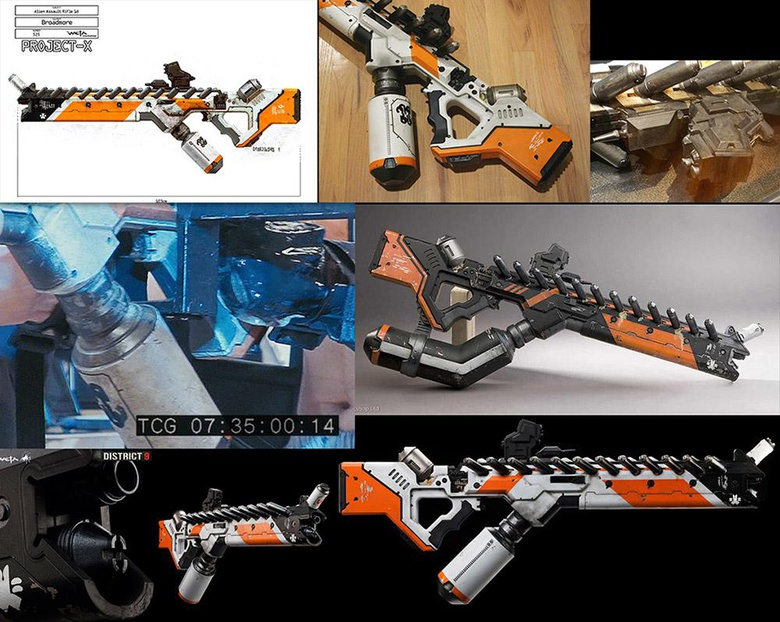 Reference images of the weapon