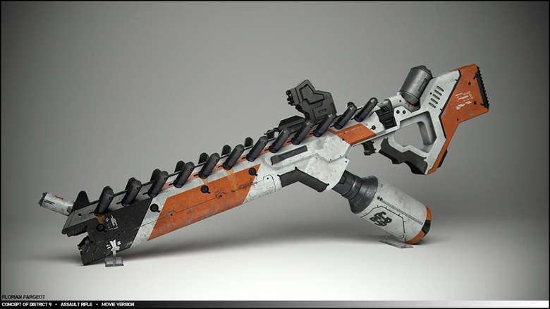 White version of the weapon