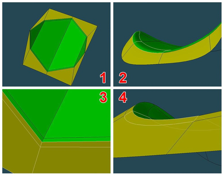 Maintaining boundary positions is important for effective shading and mapping